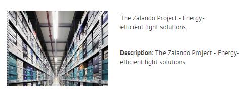 THE ZALANDO PROJECT